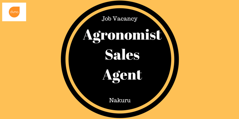 Apply for the Agronomist Sales Agent role for a chance to work in a company that is a market leader in the Agricultural sector