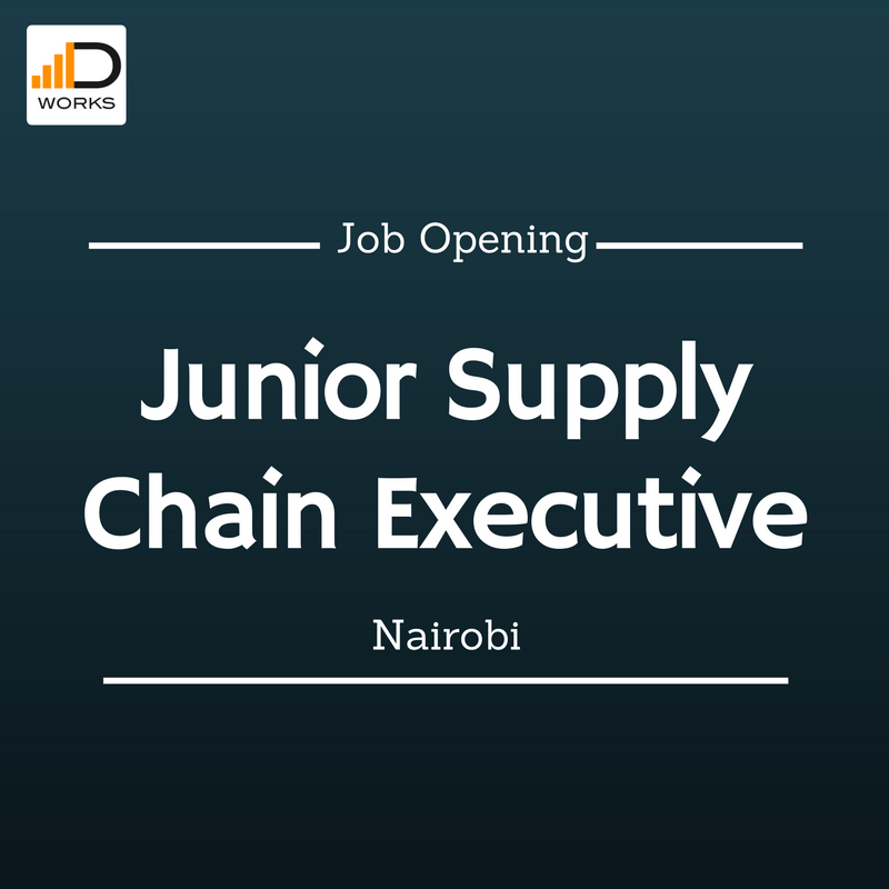 Apply for the junior supply chain executive role
