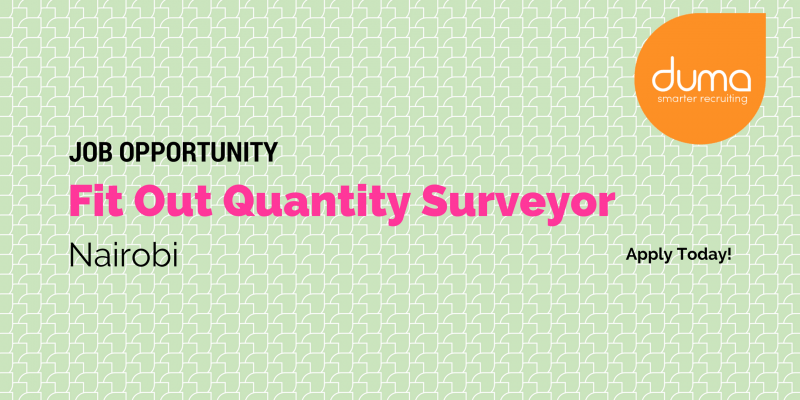 Apply for the Fit Out Quantity Surveyor job