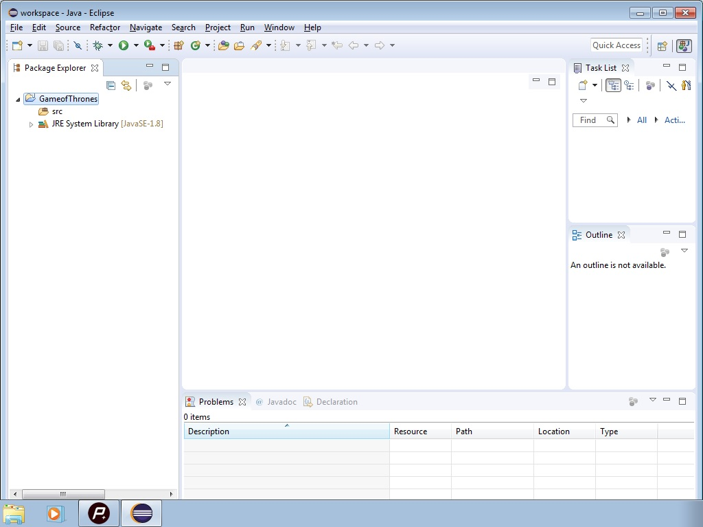 Eclipse New Project for Java image