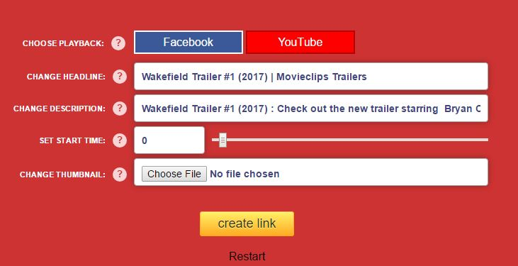 Image for Pro Toolbox Button on yt2fb site