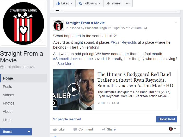 Small Default Thumbnail View on Facebook for Youtube Videos