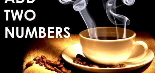 image for addition of two numbers coffee java