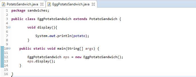 image of EggPotatoSandwich subclass