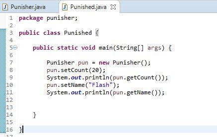 main method class