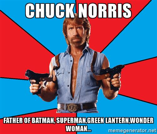chuck norris meme for java object api