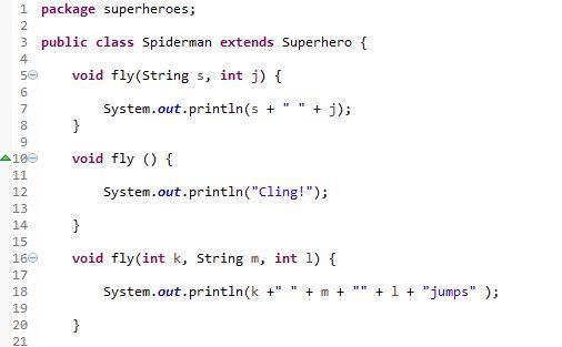 method overloading example in java