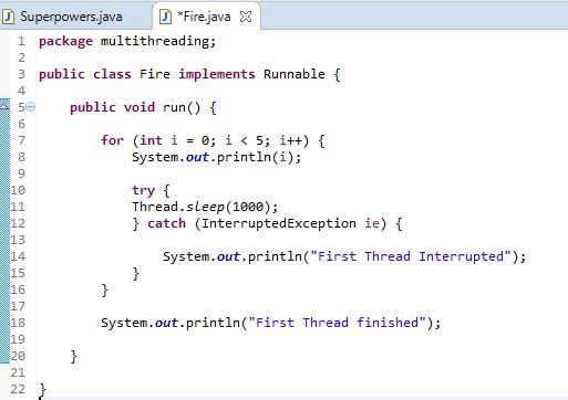 run method in runnable