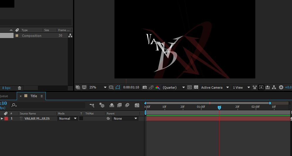 cool text effects in After Effects