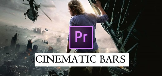 How to Get a Cinematic Film Look with Bars in Premiere Pro