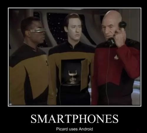android meme picard