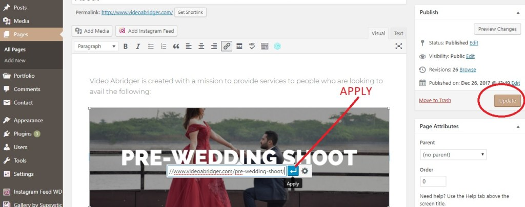 applying urls and links How to Add a Link to an Image in WordPress