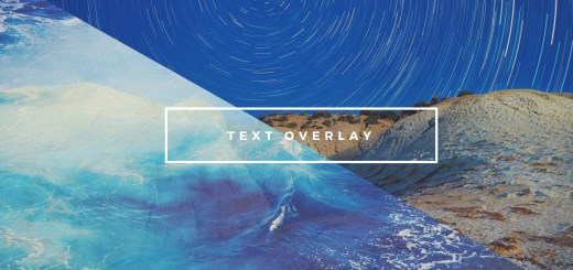 text overlay