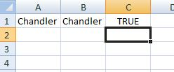 true case using exact in excel