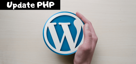 how to update php in wordpress using cpanel