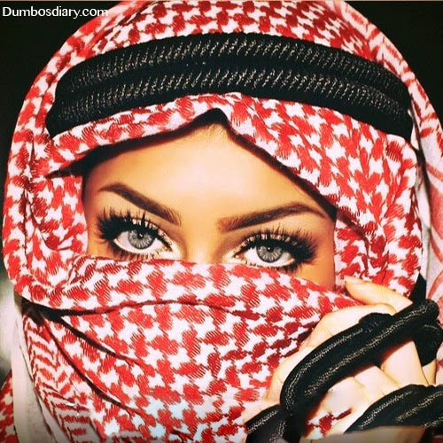 Arab hijabi girl