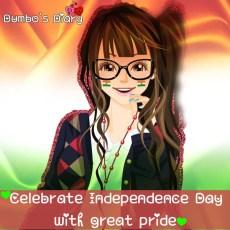 Facebook dp for girls independence day
