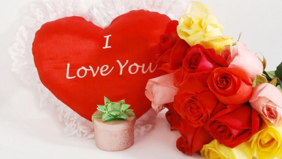 I love you roses wallpaper