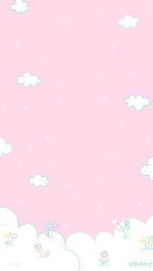 clouds pink whatsapp wallpaper