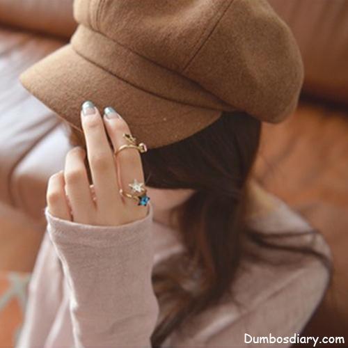 cute girl with cap dp