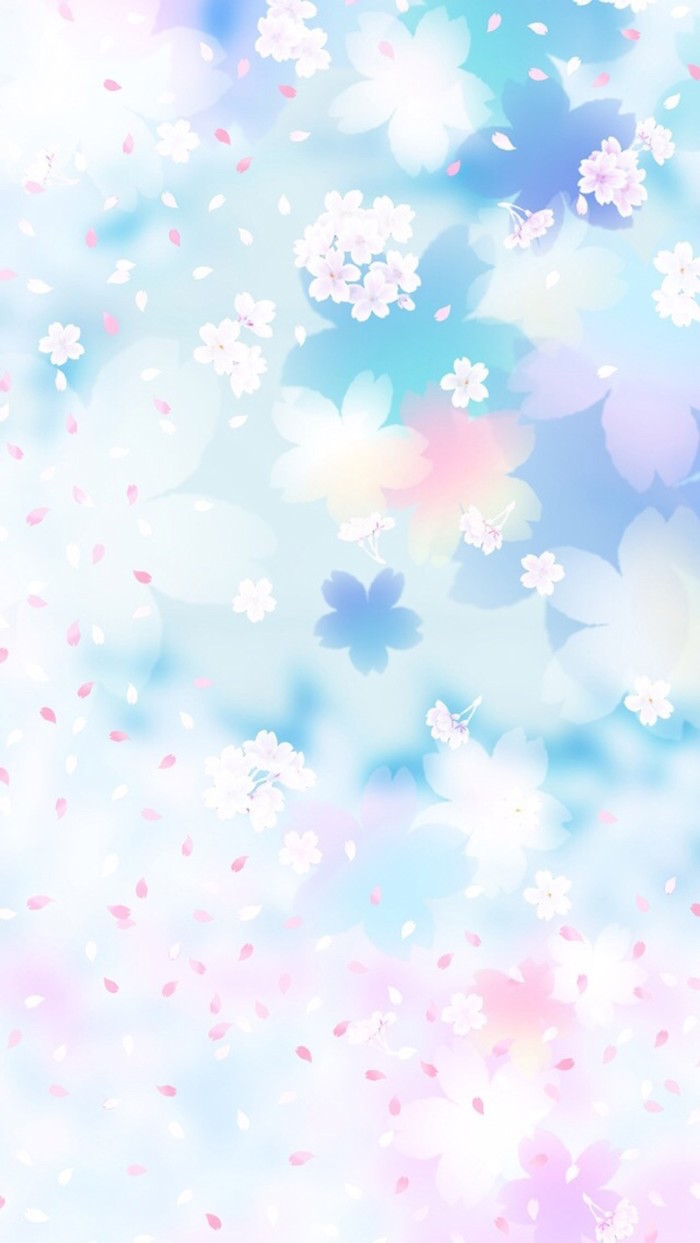 flowers and petals whatsapp wallpaper