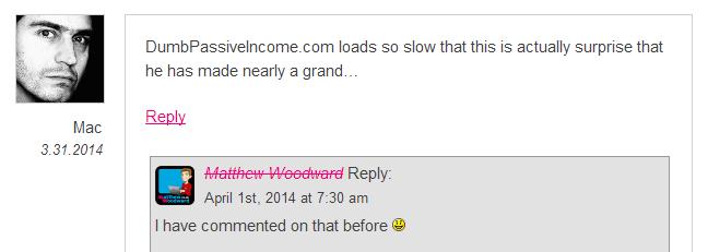 Matthew Woodward Screenshot