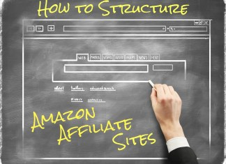 How to Structure Amazon Affiliate Sites