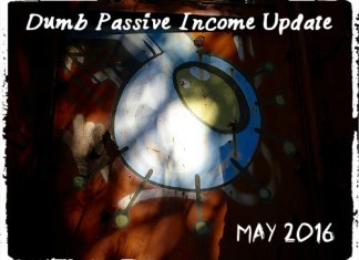Passive Income Update May 2016