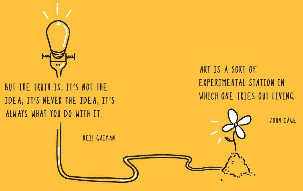 Treat Ideas Like Cats by Zac Petit