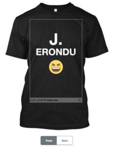 Jared Erondu Shirt