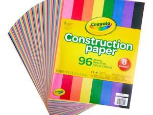 PAPEL CONSTRUCCION CRAYOLA