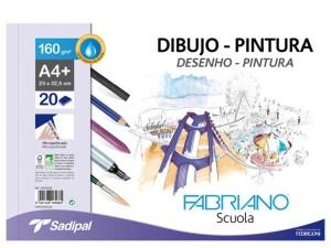 LIBRETAS DE DIBUJO PINTURA SCUOLA
