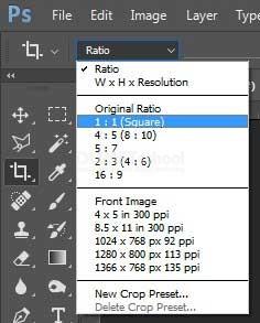 Merubah Ukuran Foto Di Photoshop : merubah, ukuran, photoshop, Merubah, Ukuran, Persegi, Square, Adobe, Photoshop, Kursus, Website,, Digital, Marketing,, Desain, Grafis