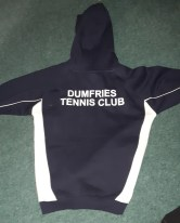 DTC Junior Hoodie with Club on rear