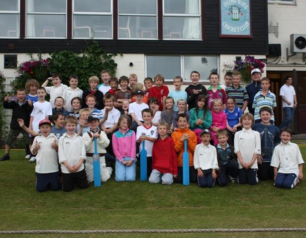Primary cricket teams raring to go at Nunholm