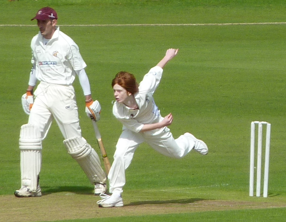 Edgar strives for another wicket against Gatehouse