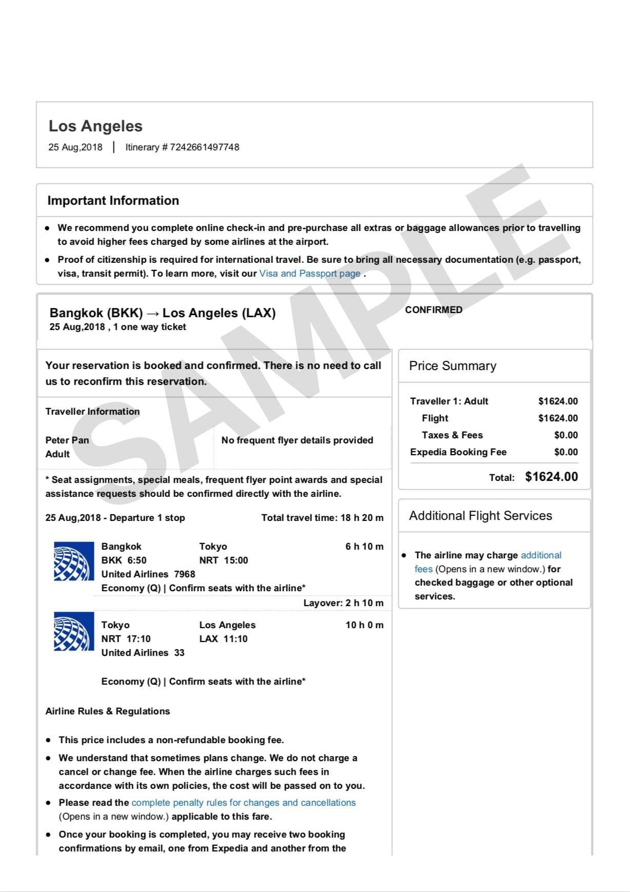 Fake Plane Ticket Generator : plane, ticket, generator, Dummy, Ticket, Generator