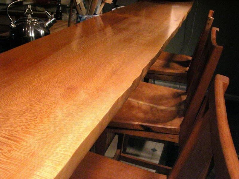 Custom Handmade Bar Tops  Made From Unique Beautiful Wood