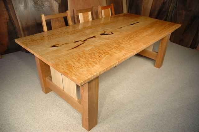 maple kitchen table cabinet pulls custom boardroom tables dumond s furniture conference