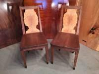 Wood Slab Chairs | Dumond's Custom Furniture