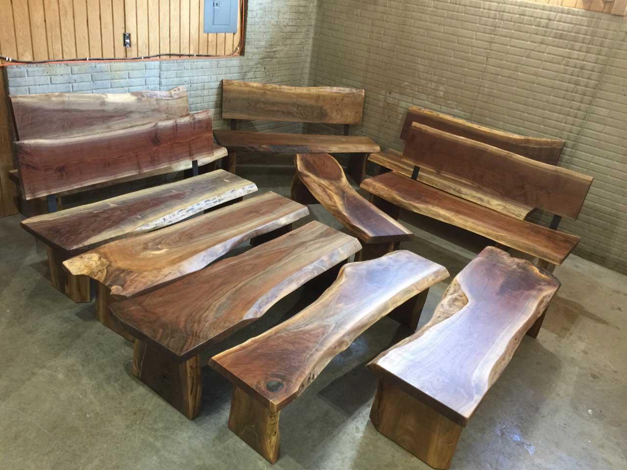 Custom Handmade Wooden Benches  Dumond's Custom Furniture