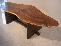 Custom Wood Slab Coffee Tables: Dumond's Custom Furniture