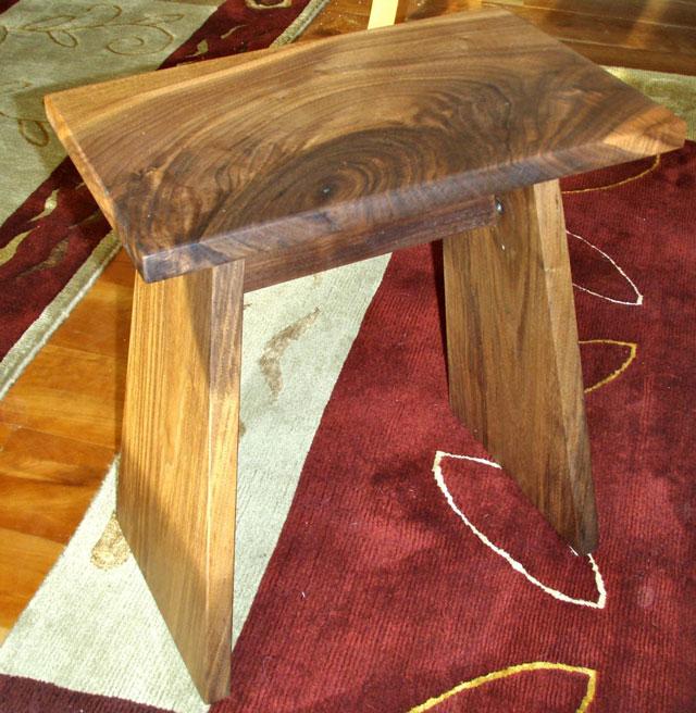 Custom Handmade Wooden Stools  Dumonds Custom Furniture