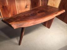 Wood Slab Dining Tables Dumond' Custom Furniture