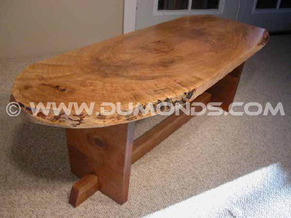 wood slab coffee tables custom wooden