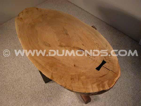 wood slab coffee tables custom made