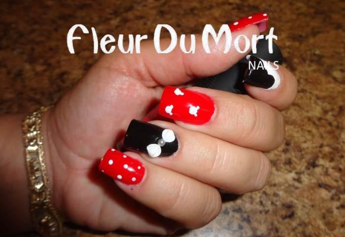 Mickey Mouse Nails Isa Nails