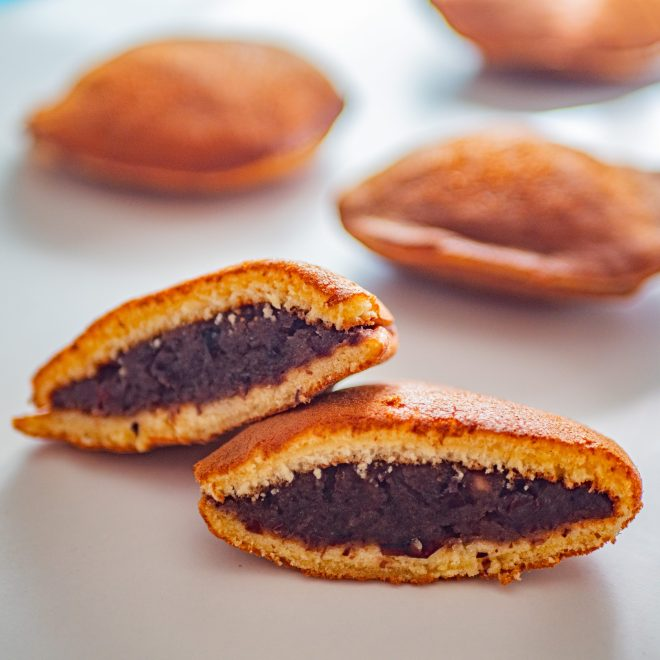 Dorayaki - Pancakes japonais fourrés à la crème de haricots azuki