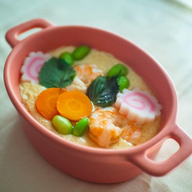 Chawanmushi - Flan aux oeufs japonais cuit à la vapeur - Recette