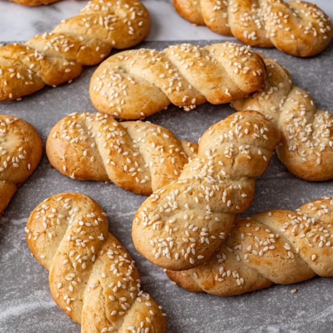 Koulourakia - Biscuits de Pâques - Recette grecque